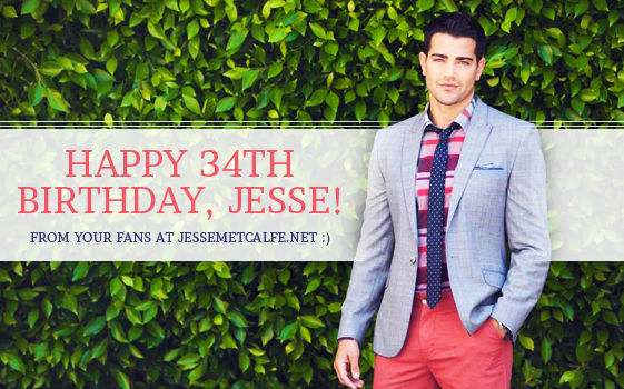 Jesse Metcalfe's 34th Birthday