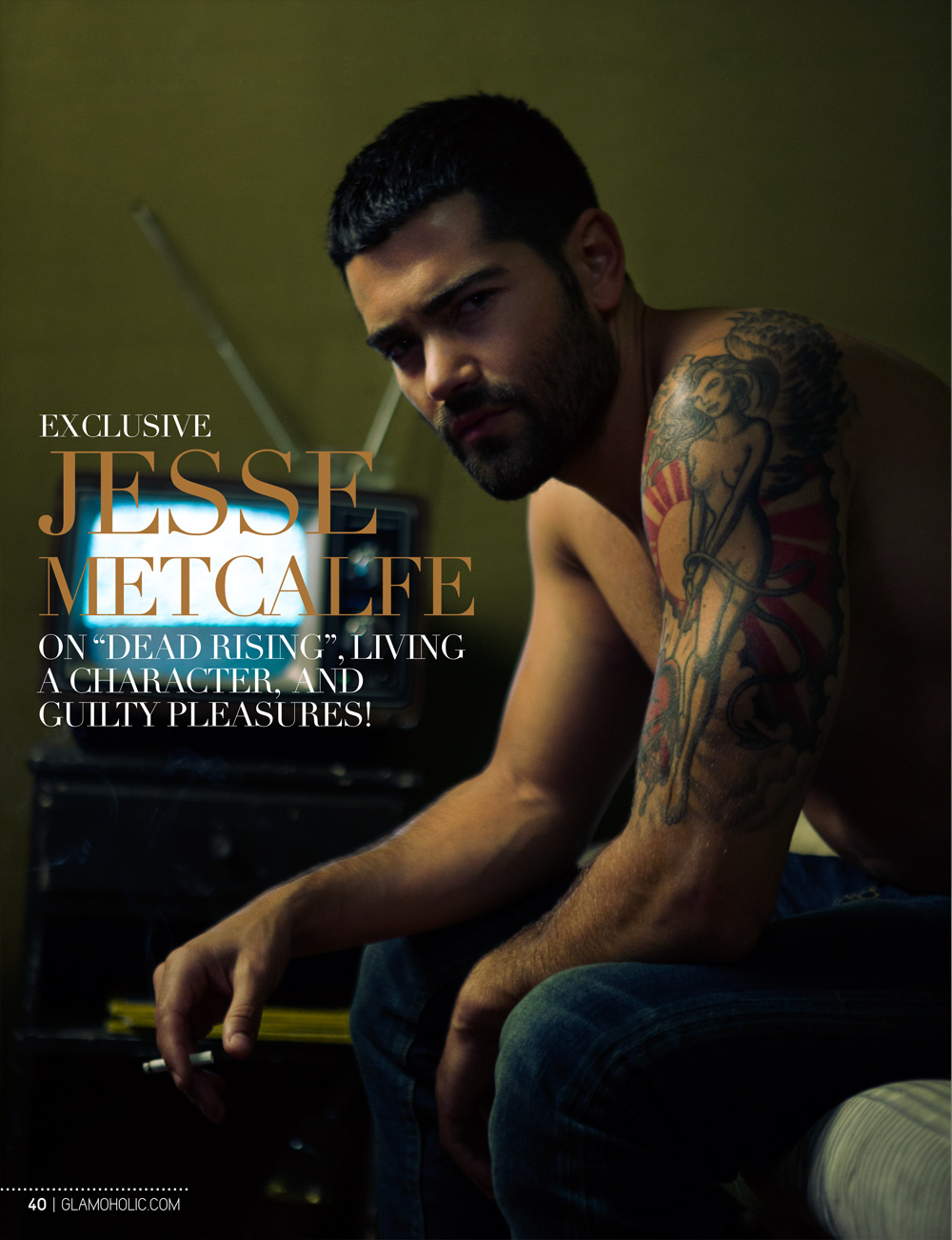 Jesse Metcalfe in Glamholic