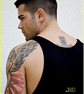 Jesse Metcalfe Da Man Magazine photo shoot