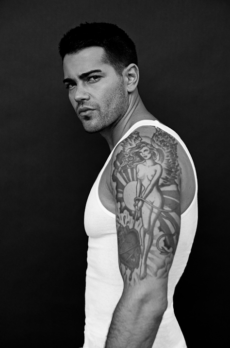 Jesse Metcalfe photoshoot with Sam Fields