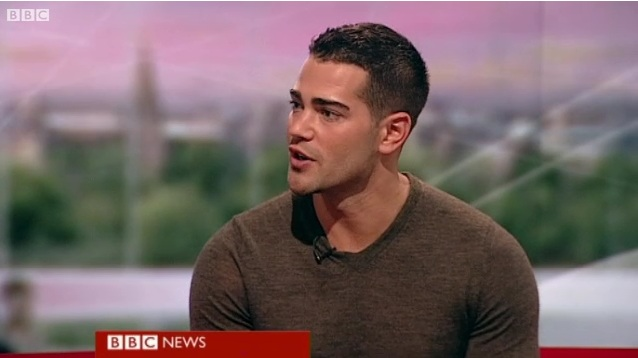 Jesse Metcalfe on BBC News (Video)