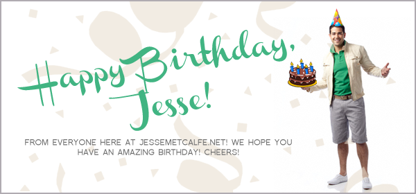 Happy Birthday, Jesse!