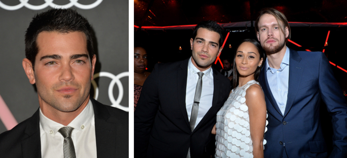 Pictures: Jesse Metcalfe, Cara Santana and Chord Overstreet at Golden Globes events
