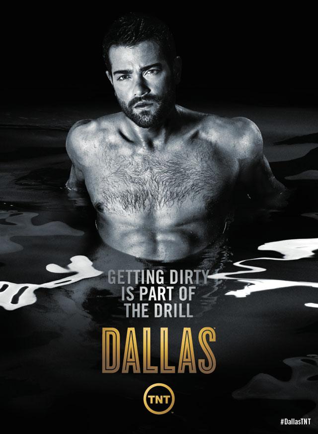 Jesse Metcalfe - Dallas Season 3 Poster