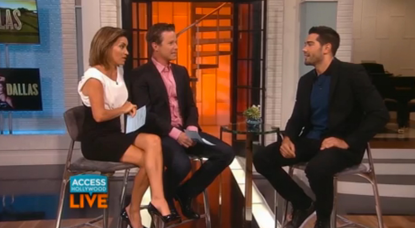 Watch: Jesse Metcalfe on Access Hollywood Live