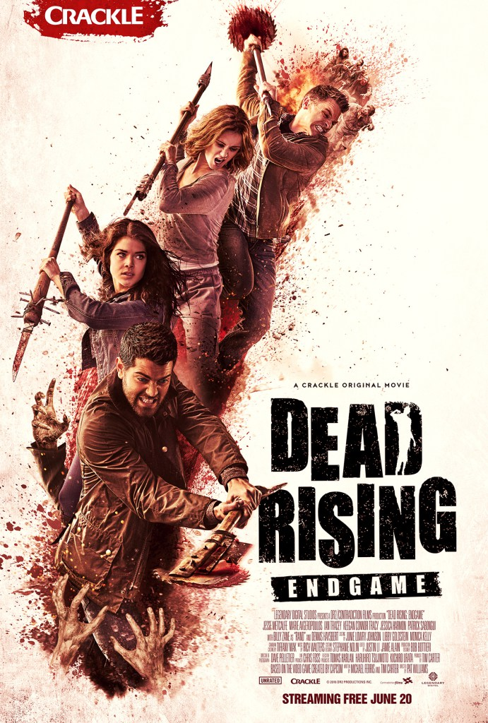First official poster & trailer for 'Dead Rising: Endgame'