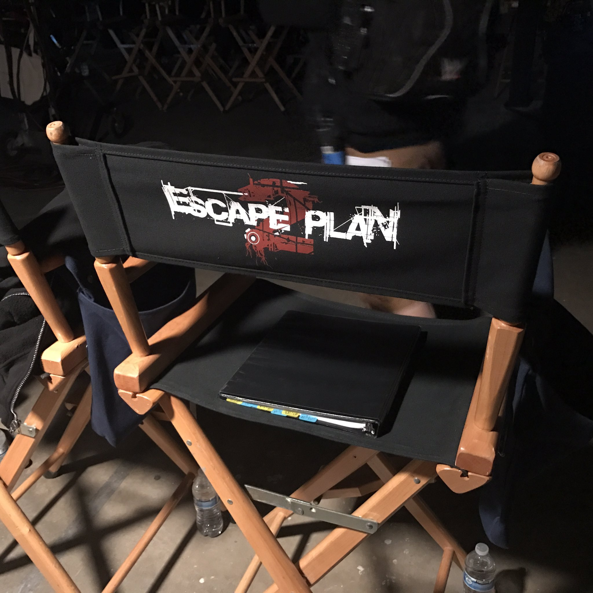 Jesse Metcalfe filming 'Escape Plan 2' with Sylvester Stallone and Dave Bautista