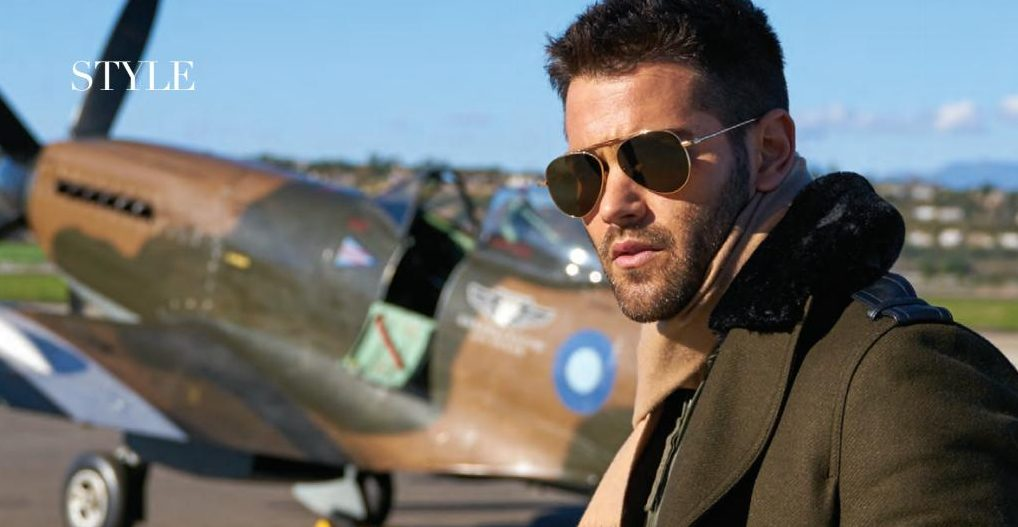 Jesse Metcalfe in Aviation History Magazine May 2017