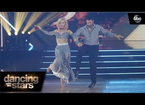 DWTS premiere: Quickstep with Sharna Burgess